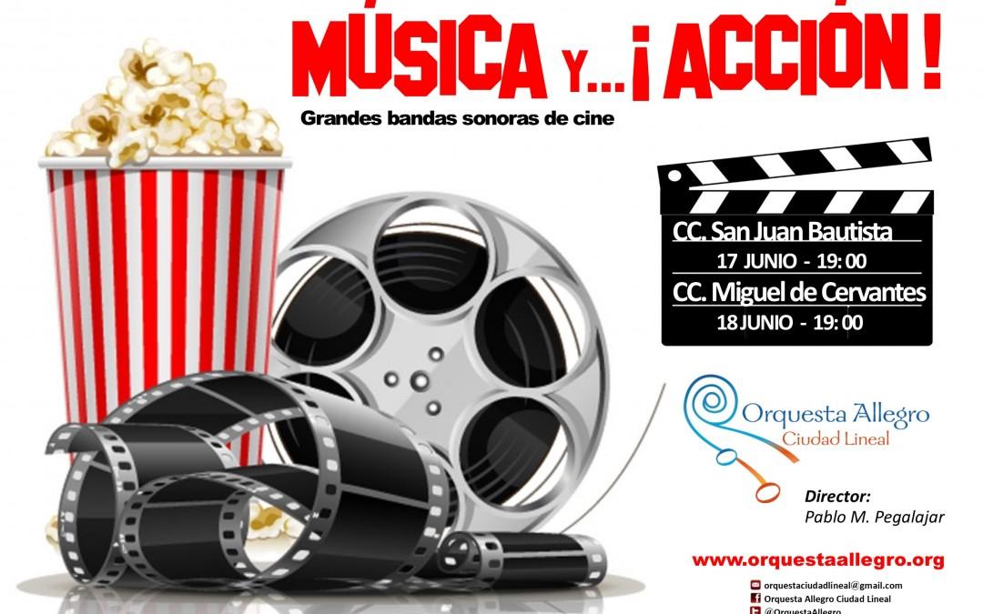 Música y… ¡acción!